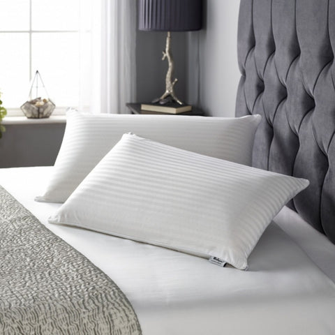 Latex is naturally anti allergenic, anti-bacterial and any microbial. These properties create a dust mite resistant pillow which is great for this who suffer from hay fever, asthma or respiratory problems.