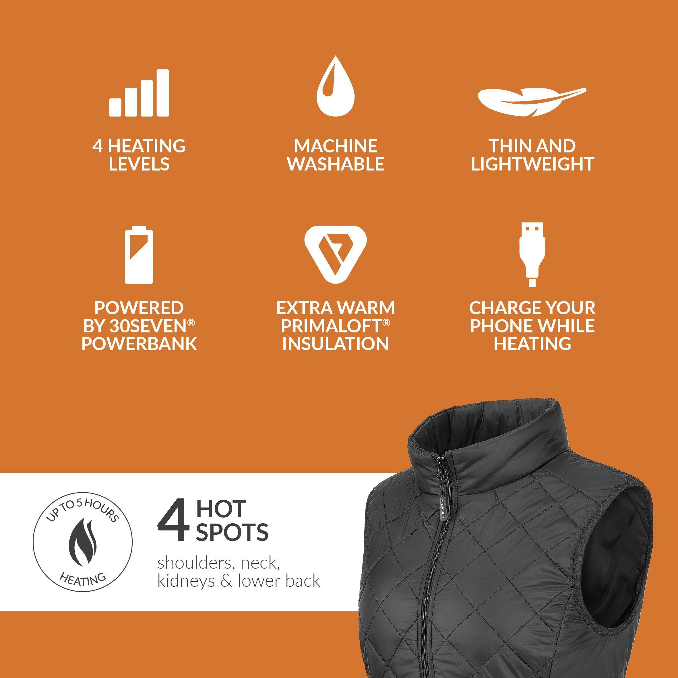 N//D Heated Body Warmer Man//Woman with Power Bank