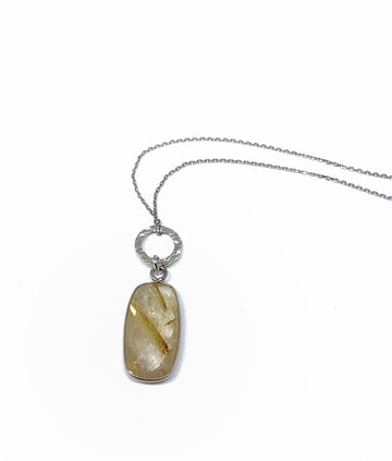 Rutilated Quartz Necklace