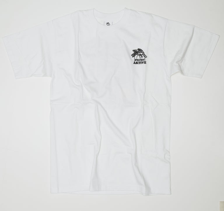 AKTIVE FRIENDSHIP TEE - WHITE