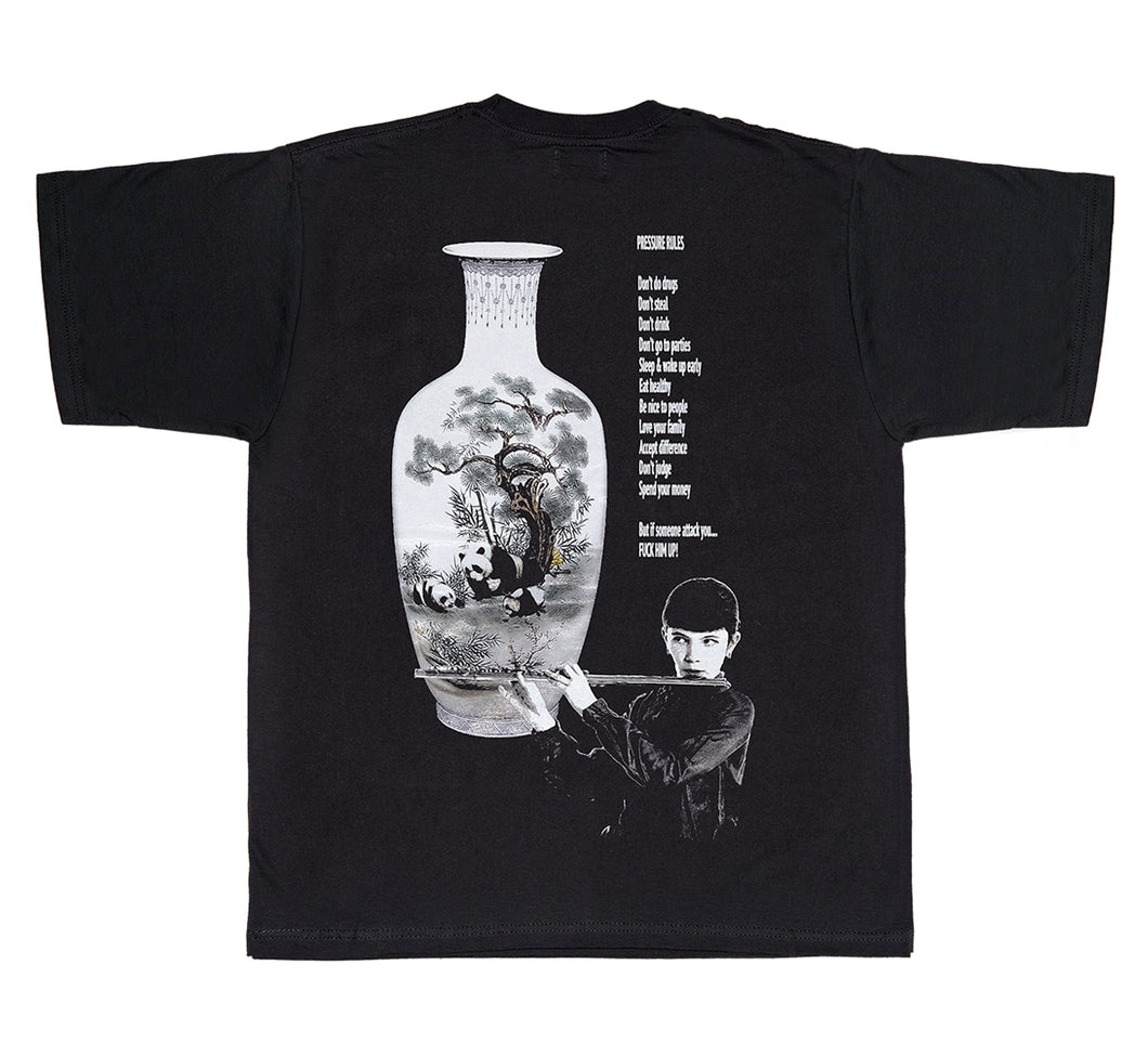 PRESSURE PARIS RULES TEE - BLACK