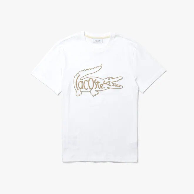 LACOSTE EMBROIDERED TEE TH0051