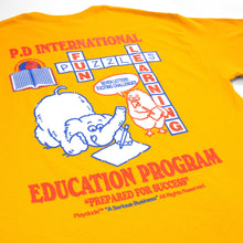 Load image into Gallery viewer, Playdude Education tee - Gold