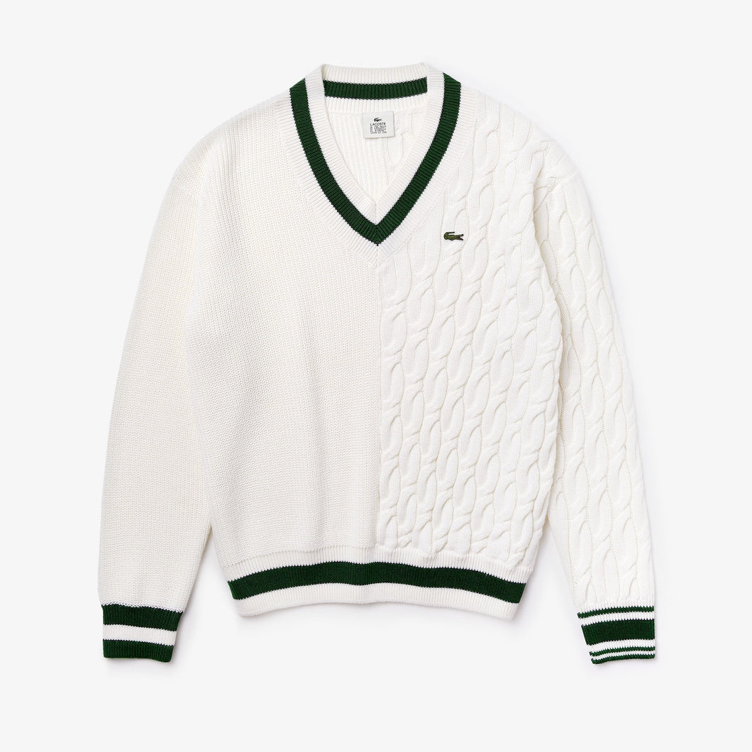 Lacoste Live Wool V-Neck Sweater