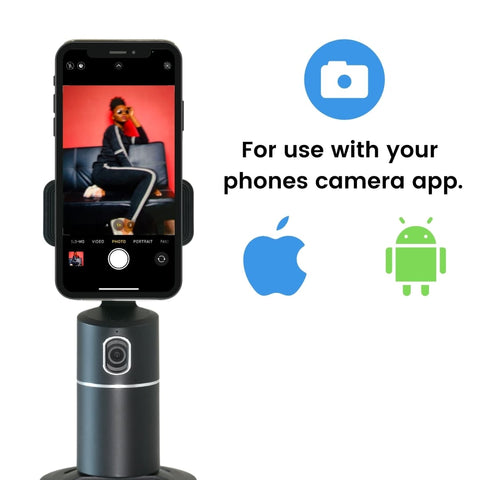 Poppy - Bluetooth Camera Shutter Remote for Selfies and Videos, Android and Apple phones.