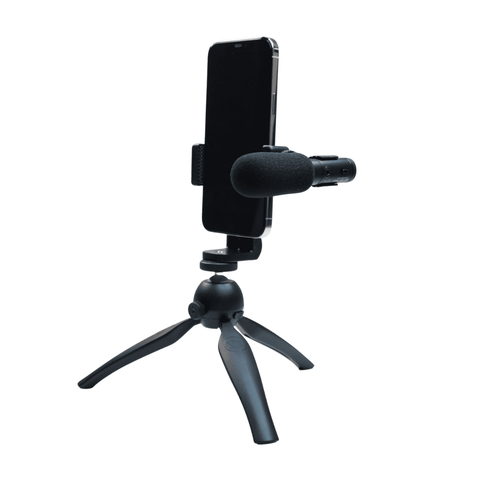 Vlogging Microphone and Tripod for Tiktok