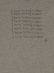 I Have Nothing To Wear 3/4 Raglan T