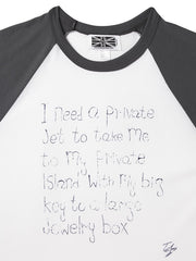 I Need A Private Jet Baseball Shirt