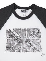 Union Jack Flag Baseball Shirt