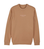 sweater fruits camel
