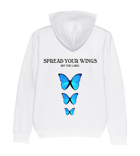 hoodie spread your wings wit