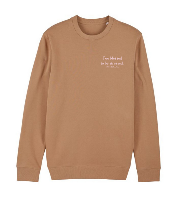sweater blessed camel