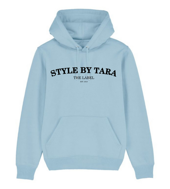 iconic hoodie blauw sbt the label