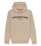 iconic hoodie beige sbt the label