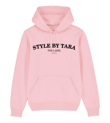 iconic hoodie roze sbt the label
