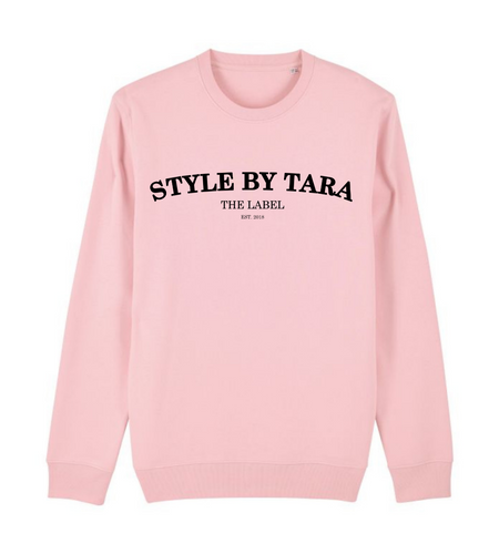 iconic sweater roze sbt the label