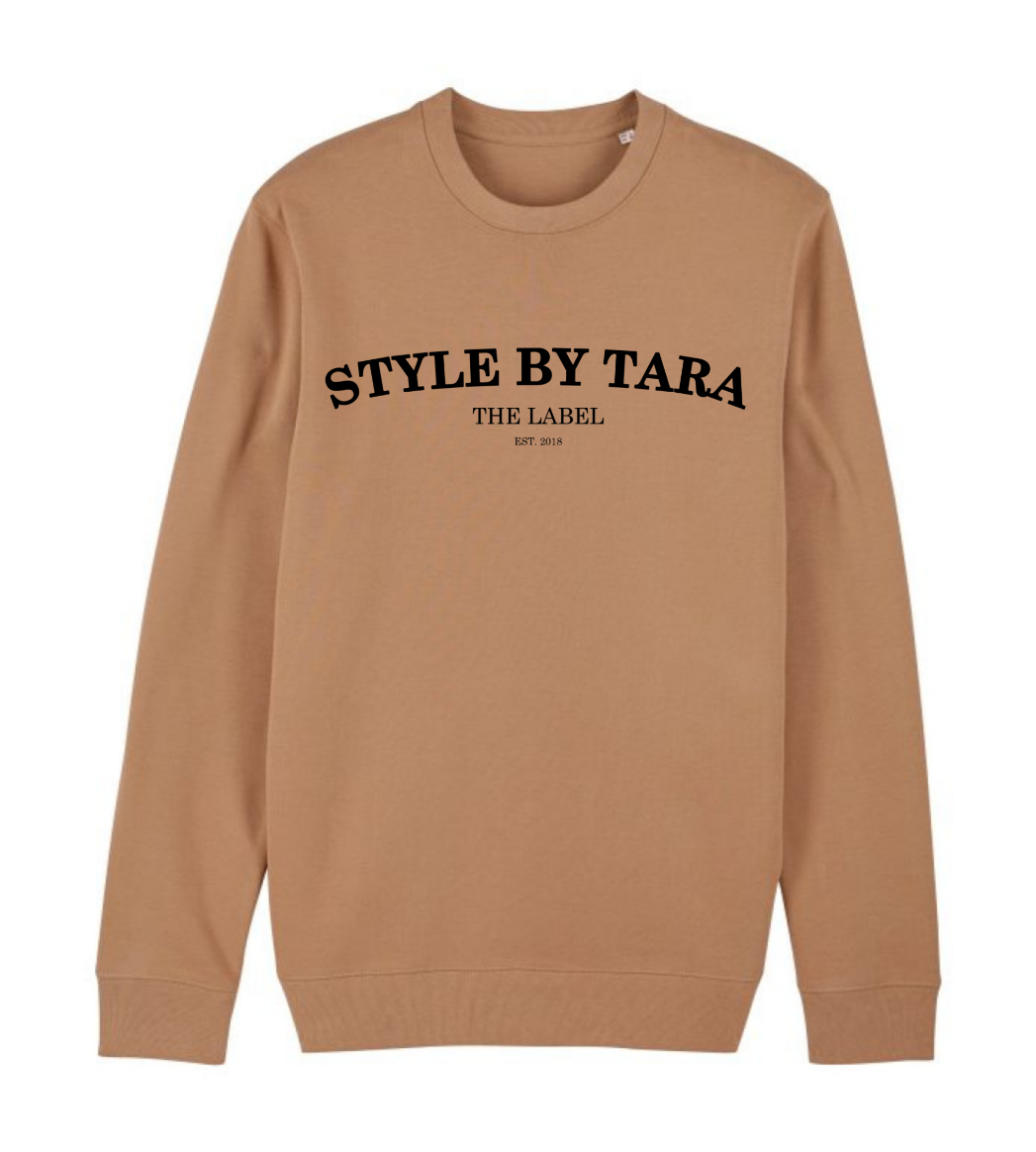 iconic sweater camel sbt the label