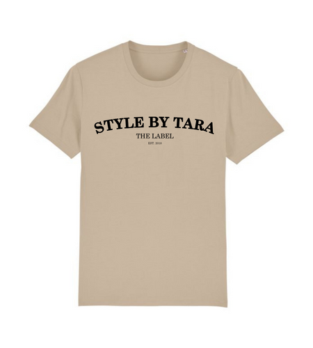 iconic t-shirt beige sbt the label