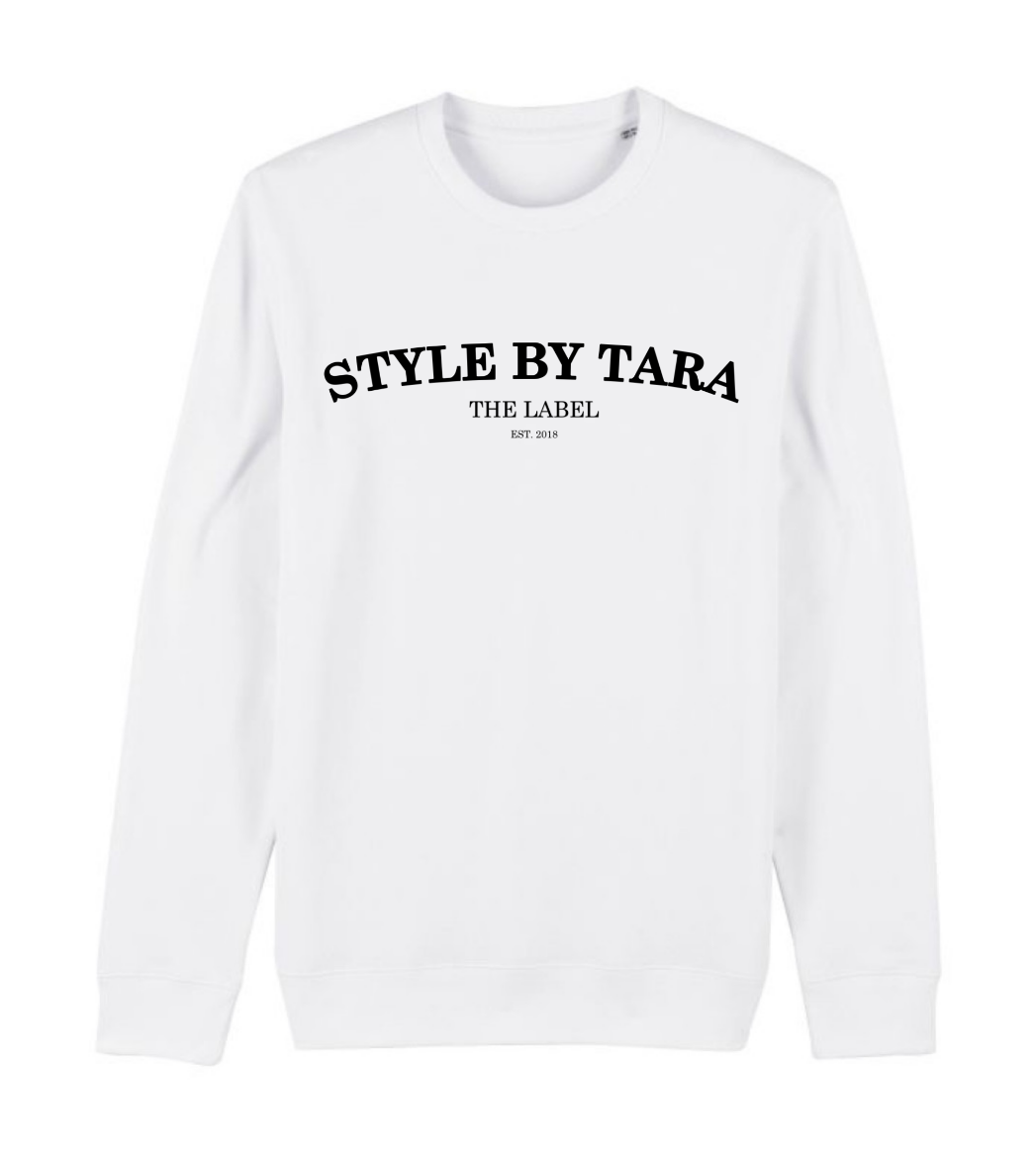 iconic sweater wit sbt the label