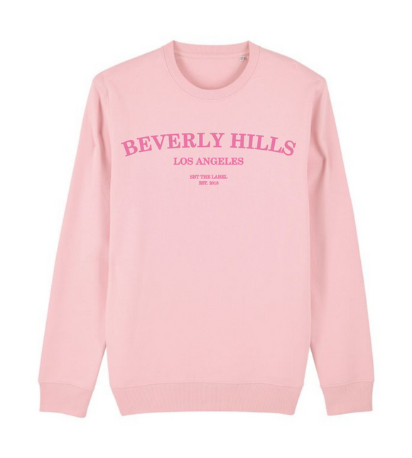 sweater beverly hills roze