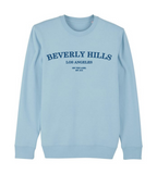 Sweater 'Beverly Hills' - blauw