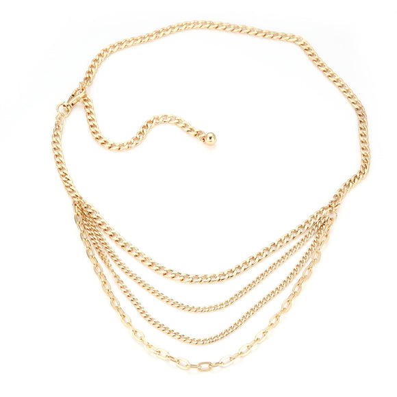 heupketting chains goud