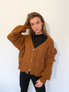 Kim Ruffle Sweater