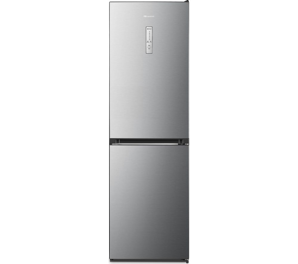 HISENSE RB412N4AI1 50/50 Fridge Freezer - Stainless Steel