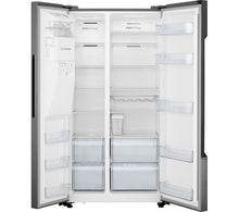 Load image into Gallery viewer, HISENSE RS694N4TD1 American-Style Fridge Freezer - Silver