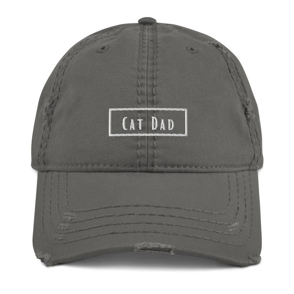 Cat Dad | Distressed Hat