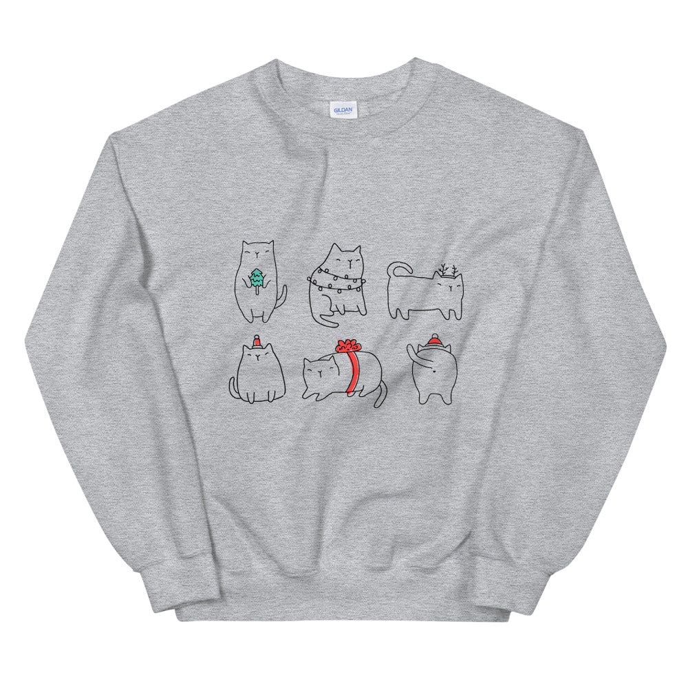 Catmas Mood | Sweatshirt