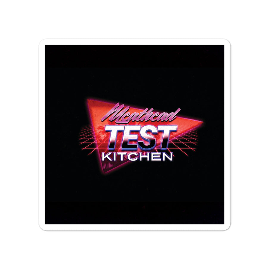 Meathead Test Kitchen Sticker - Hurrdat Media