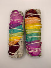 Load image into Gallery viewer, Chakra Rose Smudge Stick