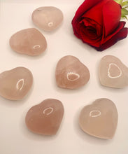 Load image into Gallery viewer, Rose Quartz Crystal Hearts