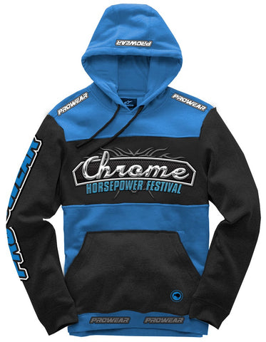 Chrome Expression Session - Blue Hoodie