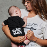 "MM ""I Do Mean Skids"" Baby Onesie & Tshirt"