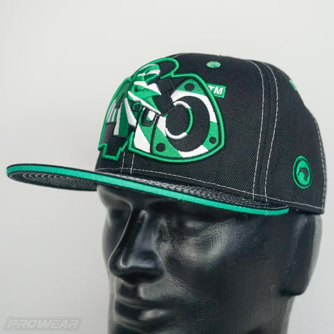 4 & Rotary Rising Sun Green Hat