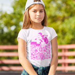 4 & Rotary Modified Kids Tshirt