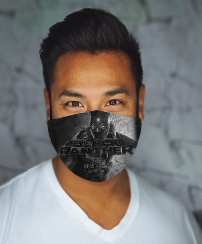 Black Panther RIP Face Mask