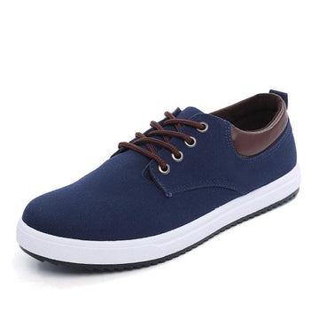Spring and Autumn Plus Size Breathable Casual Canvas Shoes