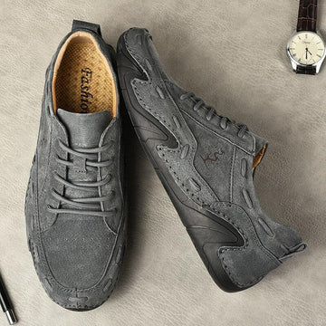 Casual Soft Fashion Lace-up Men's Single Shoes