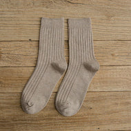 British Style Men's Mid-calf Socks for Business
