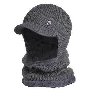 Winter Ear Protection Cold and Warm Knitted Hat Woolen Hat