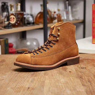 Short Tube Lace Up Casual All-match Men's Boots