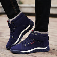 Winter Men's Warm and Velvet Casual Shoes Sports Shoes Outdoor Snow Boots