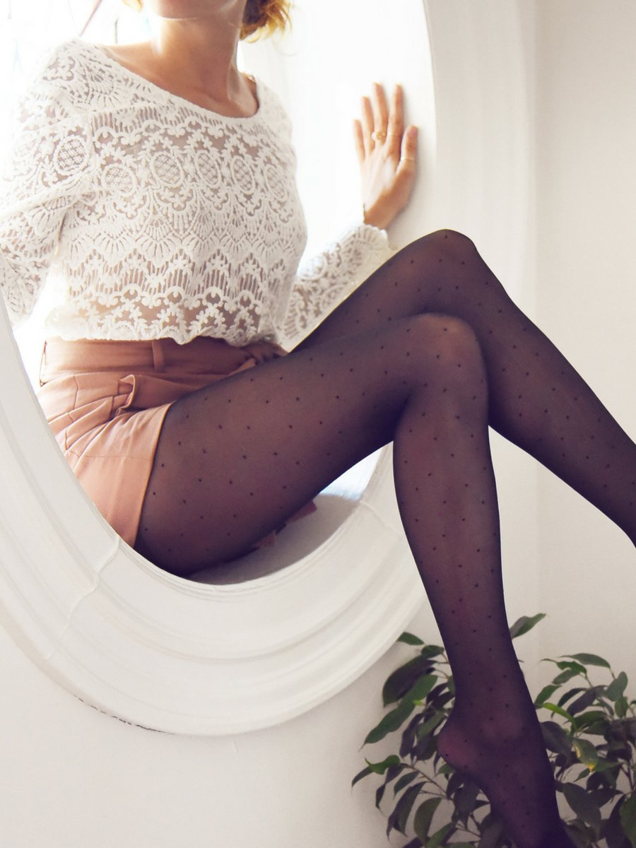 Micro Dots Tights