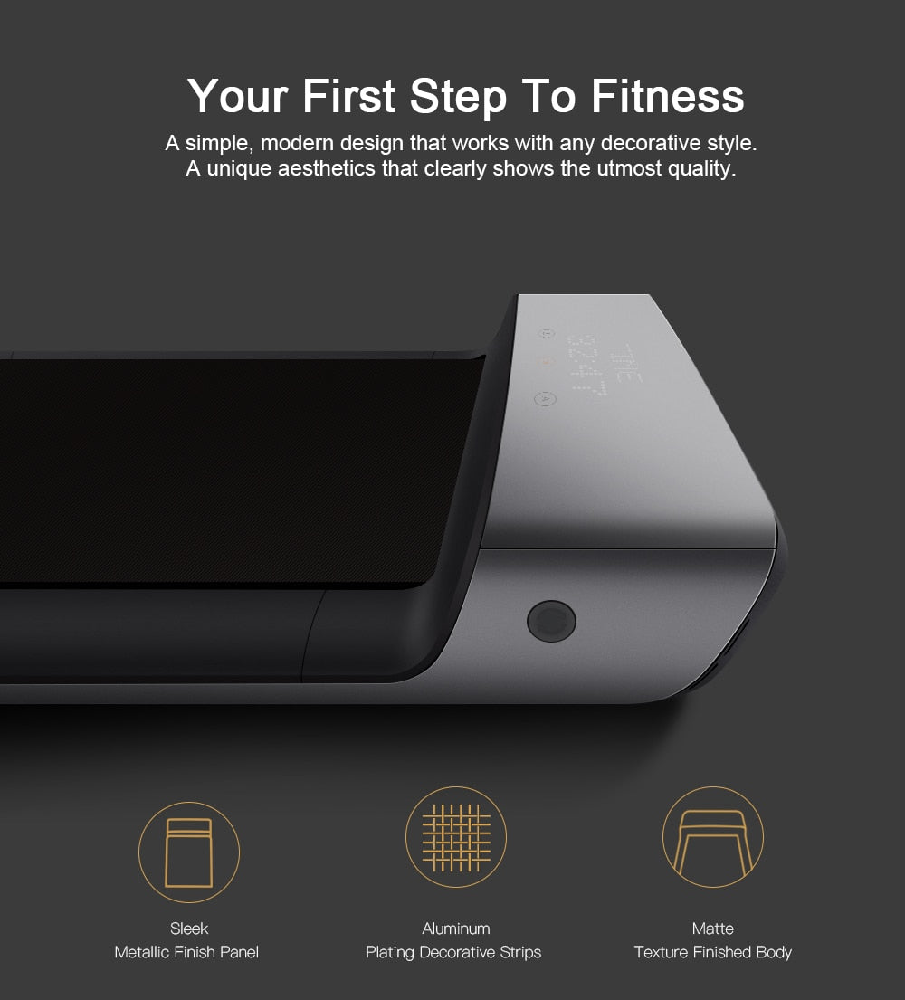 WalkingPad A1 Foldable Treadmill Save Space Smart Electric Jog Walk Slim Cardio Fitness Equipment For Home Xiaomi Joint Create