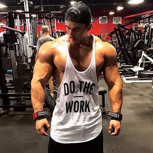 Muscleguys Brand Gyms Clothing Singlet Y Back Gym Tank Top Men Fitness Stringer Vest Cotton Bodybuilding Men Sleeveless Shirt