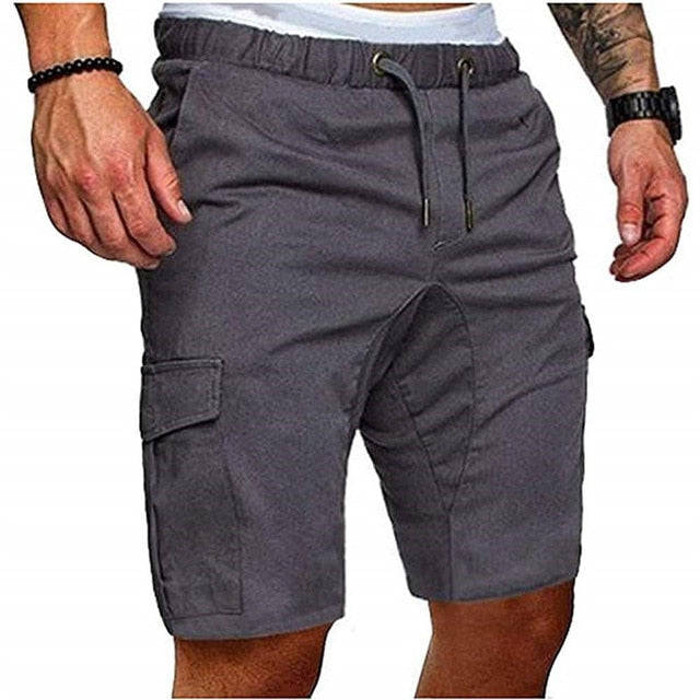 Men Cargo Pants Summer Male Casual Pants Fitness Trunk Gym Running  Pant Hip Hop Streetwear Homme Pants Plus Size Men