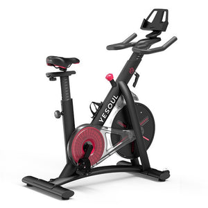 S3 Spinning Cycling Bike-Belt Drive Indoor Magnetic Exercise Bike Indoor Stationary Bike Home Cardio Gym Workout